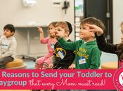 Reasons Organizing Playgroups Toddlers Good Idea