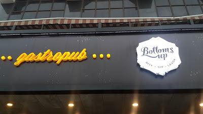 Review for Bottoms Up... Gastropub @ Punjabi Bagh, Delhi