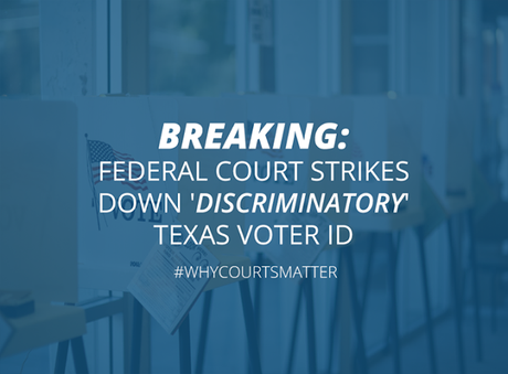 Texas Voter ID Law Is Overturned By 5th Court Of Appeals