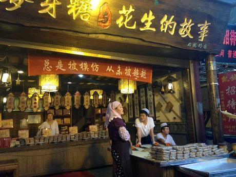 Muslim Street Stall  Xi'an