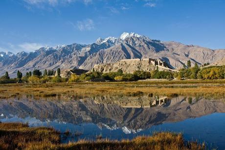 Silk Road ruins Taxkorgan Xinjiang