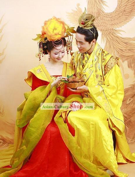 Yellow Silk Robes Han Dynasty