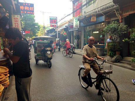 Behind the Scenes Muslim Quarter China