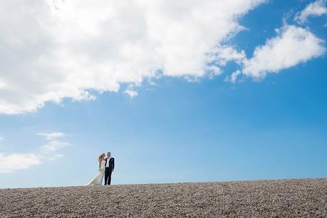 WPNSA wedding - Chesil beach