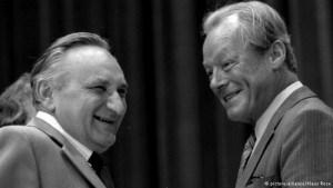 Egon Bahr and Willy Brandt