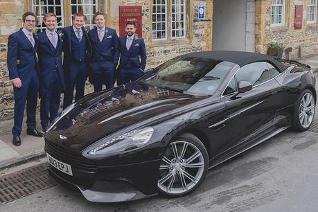 Aston Martin & Grooms men