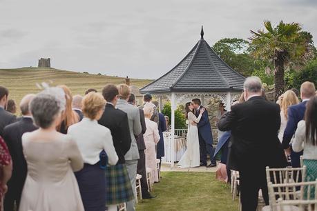 Wedding ceremony scene
