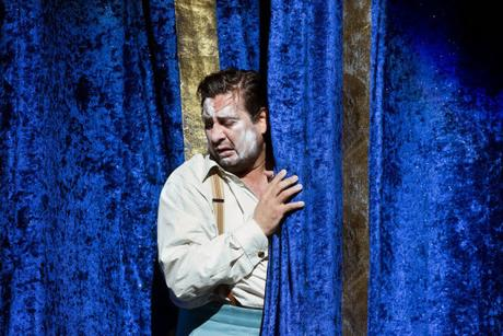 Marcelo Alvarez as Canio in Pagliacci (Met Opera)