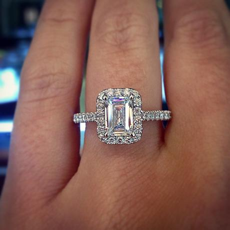 What To Look For In Emerald Cut Engagement Rings Paperblog