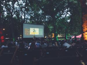 outdoor cinema in london - the nomad cinema