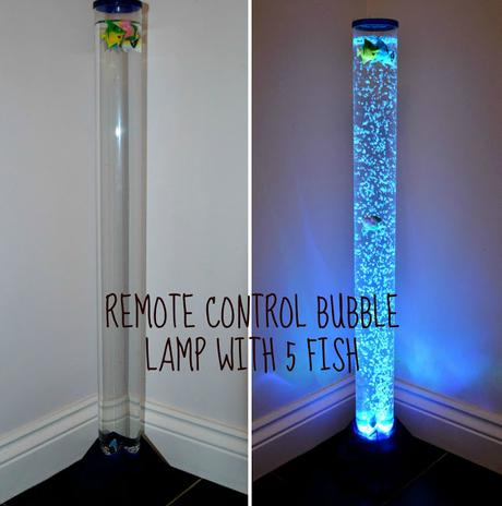 Value Lights Bubble Lamp With 5 Fish