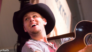 Brett Kissel on Stage at Boots and Hearts 2014