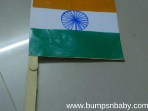 Indian Flag DIY with your Toddler this Independence Day