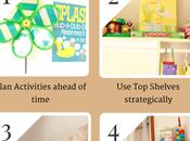 Ingenious Ways Manage Toddler Mess