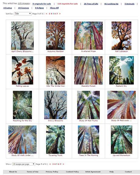 Cedar Lee Prints on Artist Rising