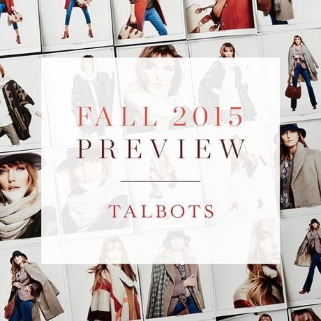 Talbots Fall 2015 Lookbook Sneak Peek