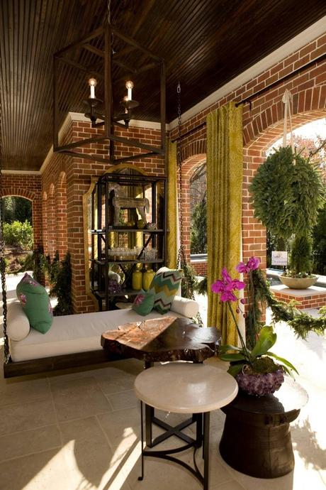 How To Create An Outdoor Oasis! Covered Patio And Porches