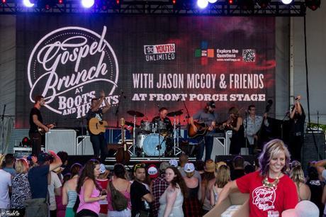Gospel Brunch Jason McCoy The Lovelocks High Valley Boots and Hearts 2015