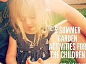 Summer Garden Activities Children