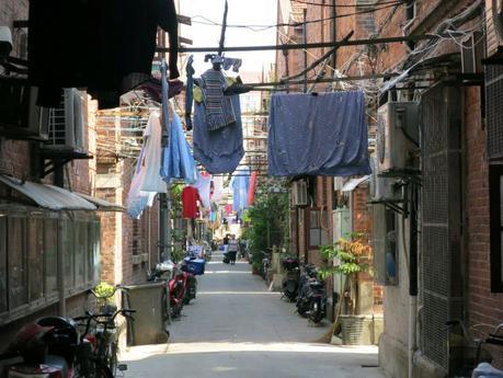 Shanghai alleyways China