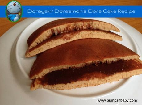 Dorayaki Recipe or Doraemon's Dora Cake (Step by Step)