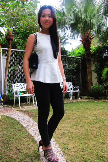 5 Different Looks with One Pair of Black Jeans OOTD - Paperblog