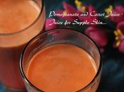 Pomegranate Carrot Juice- Juice Supple Skin