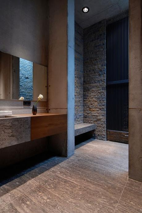 designer tips masculine bathroom design paperblog stylish masculine bathroom design ideas comfydwelling com