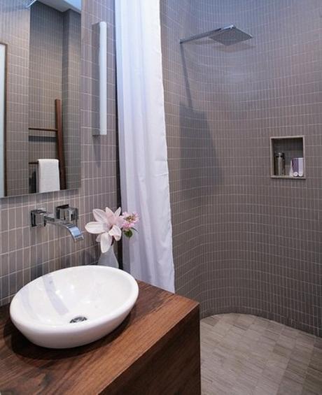 how to make a bathroom masculine