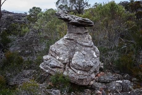the lady's hat rock grampians