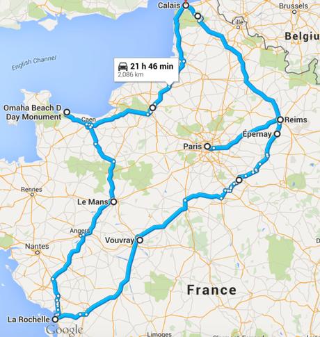france road trip