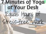 Minutes Yoga Your Desk Equals Hours Stress-free Work