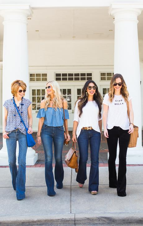 Fall Flare Jeans
