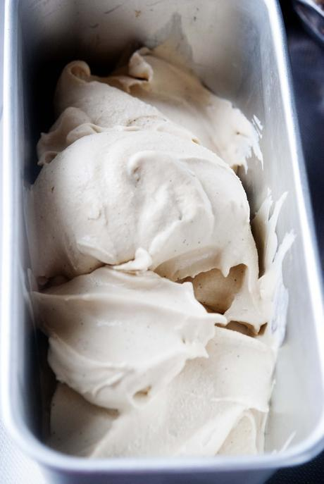 Coconut and Dulce de Leche Ice Cream