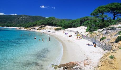 Rondinara Beach, Corsica, France