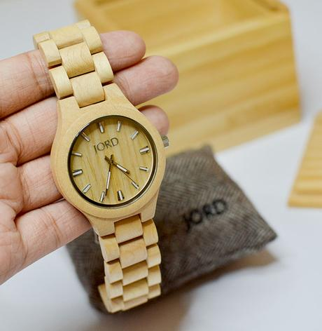 9 Jord Wood Watches - Fieldcrest Maple Reviews Photos - Gen-zel.com (c) #Jordwatch