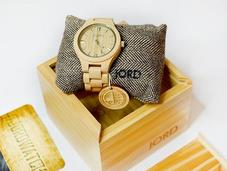Fieldcrest Maple Jord Wood Watches