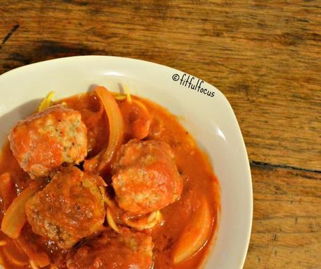Healthy Spaghetti & Meatballs | Nut Free | Soy Free | Gluten Free | Lactose Free | Healthy Recipes