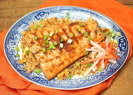 Ginger-Citrus Grilled Salmon