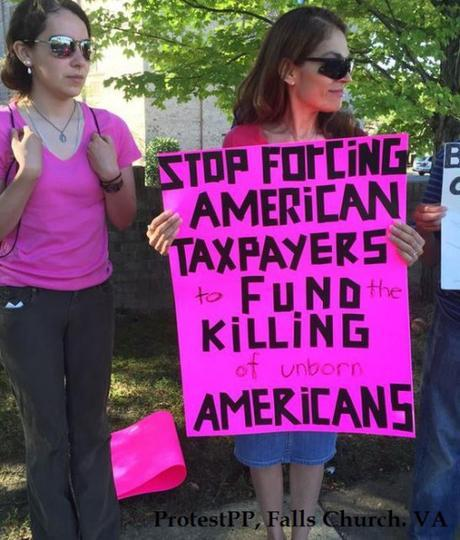 Protest PP Falls Church VA
