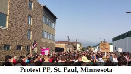 Protest PP St Paul MN