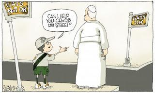 At Least 1,000 Words: Signe Wilkinson on the Boy Scouts, Pope Francis, and the Gays