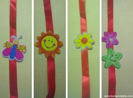 Incredibly Easy DIY Rakhi Ideas for Kids
