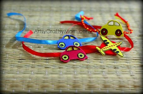10 Simple DIY Handmade Rakhi Ideas for Kids to Make