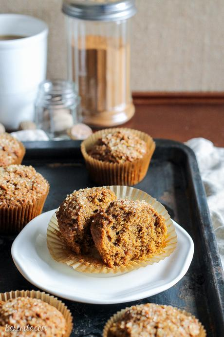 These Vegan Pumpkin Spice Latte Muffins are your favorite fall drink ...