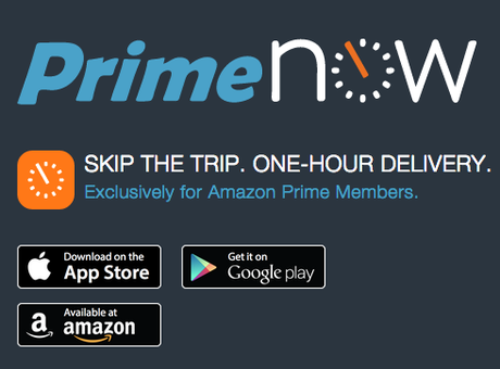Amazon Prime Now is in Portland!