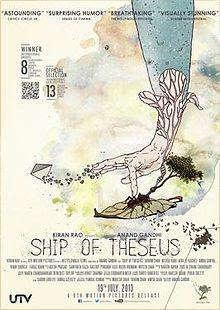"182. Indian director Anand Gandhi's debut film ""Ship of Theseus"" (2012): A remarkable thought-provoking, non-commercial film from India"