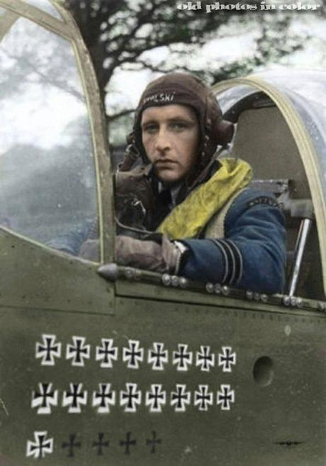 One of the Many Incredibly Brave Polish Fighter Pilots Who Served in the British Royal Air Force after Poland Was Defeated and Occupied by Nazi Germany