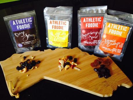 Althletic Foodie workout snacks review pic