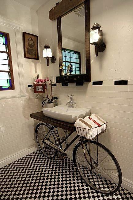 What Happens When You Use a Bike as a Sink?